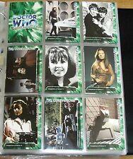 Classic Doctor Who TV Trilogy Complete Mint 200 Card Colour Base Set 1963 - 1996