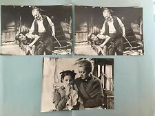 HEIDI et PIERRE - 1955 -  LOT 3 PHOTOS CINÉMA PRESSE