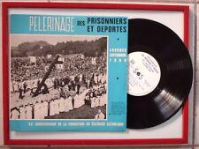 DISQUE : 33T/25cm / PELERINAGE DES PRISONNIERS et DEPORTES - LOURDES 1966 -
