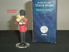 CORGI F07221 ICON SCOTS GUARDS BAND TENOR HORN METAL TOY SOLDIER FIGURE