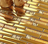 11 Sheets Of Beautiful HighQuality Glass Mosaic Wall Tiles-Kitchen/Bathroom #J17