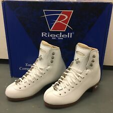 Riedell 43 Bronze Star Figure Skate Boots 1 M
