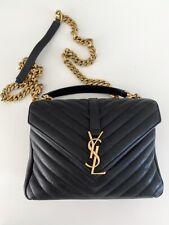 Authentic Saint Laurent YSL College Medium Bag