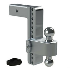 "Weigh Safe LTB10-2.5 Adjustable 10"" 180 Hitch Ball Mount 2.5"" Shaft 14,500 lbs."