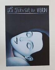 "Rafal Olbinski Polish ""LA TRAVIATA I"" Verdi Opera Signed Numbered with a COA"