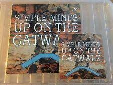 "Simple Minds - Up On The Catwalk - vinyl - Virgin Records 1984 PLUS 7"" Single"