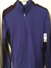 GapFit Gap Fit Purple Full Zip Training Jacket Pockets Thumbholes Large