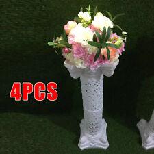 4X Roman Pillar Column Prop Pedstal Stand Plastic Flower Floral Wedding Decor Us