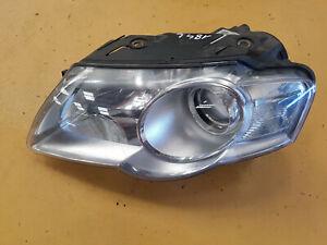 VW PASSAT B6 SALOON 2.0 TDI 2005-2010 LEFT HEADLIGHT HEADLAMP HELLA 1LL247014