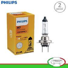2 LAMPADINE H7 PHILIPS VISION +30% DI LUCE 12V 55W - (2 PEZZI) COD. 12972PRC1