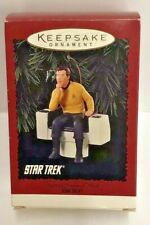 Hallmark Star Trek Chrismas Ornament Captain James T. Kirk H6