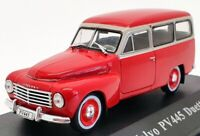Atlas 1/43 Scale Model Car V004 - Volvo PV445 Duett - Red