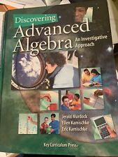 Discovering Advanced Algebra : An Investigative Approach: an Investigative...