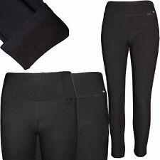 Señora cálida Thermo Stretch treggings sobre tamaño pantalones leggings Big sede Basic