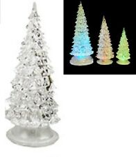 "Lighted Christmas Tree-by Red Carpet Studios-Alternating Colors-6"" High-Small"