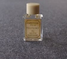ANTIQUE CARNEGIE PINK BY HATIE CARNEGIE MINIATURE PERFUME BOTTLE