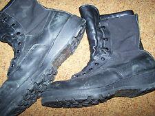 BLACK GORETEX BOOTS, BELLEVILLE 770V, MEN'S 12 REG, U.S. ISSUE *NICE*