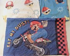 "Nintendo Super Mario Brothers Twin Sheet Set ""The Race is on"" Wii - Discontinued"