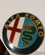 Alfa Romeo Emblem Front Kühlergrill Heckklappe:Spider,155,156,147,166 (B-Ware)
