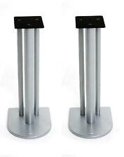 Atacama Nexus 6i Speaker Stands Silver Metallic (Pair)