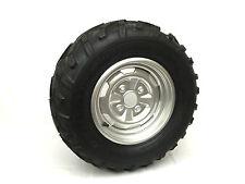 *NEW* ATV RIGHT WHEEL RIM W/ TIRE DUNLOP AT25X10-12 KT415 (#18)