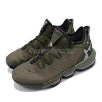 Nike LeBron XVI Low EP 16 James LBJ Cargo Khaki Black Camo Men Shoes CI2669-300