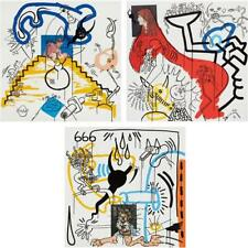 KEITH HARING - Apocalypse 3; 4; and 8, 1988 Lot 396