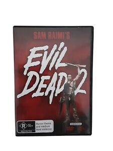 Evil Dead 2 Two (Sam Raimi) - DVD - PAL 4 - FREE POST