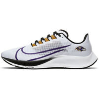 New 2020 NFL Baltimore Ravens Nike Unisex Zoom Pegasus 37 Running Training Shoes