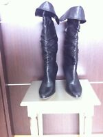Manolo Blahnik Black Boots New Size 41