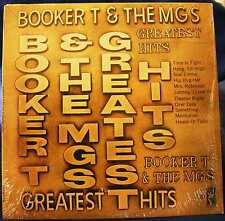 BOOKER T & THE MGS -- GREATEST HITS - VINTAGE STAX RECORDS LP - STS-2033