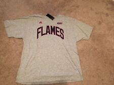 UIC FLAMES COTTON t-shirt! Men's 2XL NEW with tags Adidas cotton
