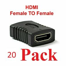 20x LOT HDMI Female to Female Coupler Connector Extender Adapter Cable HDTV1080P