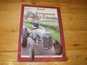 Ferguson Buyers Guide Part 1 by Stuart Gibbard.