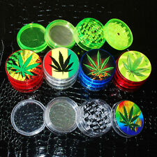 New 4 Layer Leaf Herbal Herb Tobacco Grinder Smoke Spice Crusher Hand Muller