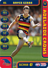 2018 AFL TEAMCOACH FULL SET OF COMMONS ADELAIDE CROWS 14 CARDS 23/03/2018