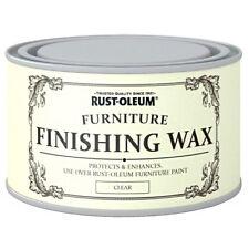 Rust-Oleum Clear Finishing Wood Furniture Wax Polish Protective Finish 400ml