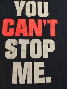 John Cena WWE Authentic 2XL Sleeveless Shirt You Can't Stop Me Hustle Respect