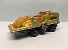 Diecast Matchbox Adventure 2000 Raider Command Green Wear & Tear Good Condition