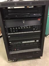 Amplifier System TOA M-900MK2 Crown Com-Tech 410 Rane AEI 5CD Player Changer