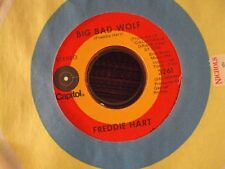 "FREDDIE HART My Hang-Up Is You/Big Bad Wolf 7"" 45 early-70's country"