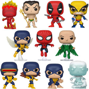 Official Marvel 80th Anniversary Spider-man X-Men Namor Funko Pop Vinyl Figures