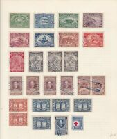 Honduras  Stamps on page Ref 15560