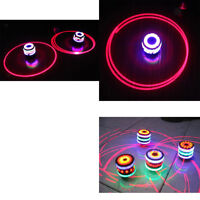 4set Spinning Top Gyro Kids Toy with LED & Music Colorful Top Kid Xmas Gift