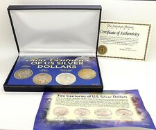 Two Centuries of U.S. Silver Dollars: Morgan, Peace, American Eagle & Eisenhower
