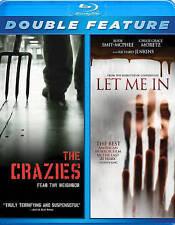 Crazies / Let Me in [Blu-ray], New DVD, Smit-McPhee, Kodi, Jenkins, Richar