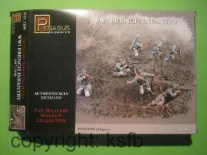 1:72 Pegasus 7199 WKI Frankreich Infanterie Soldaten Grabenkrieg Adrian Helm
