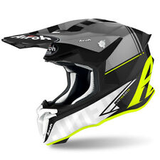 CASCO HELMET MOTO CROSS ENDURO AIROH TWIST 2.0 TECH YELLOW MATT GIALLO FLUO TG M