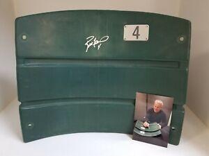 BRETT FAVRE signed Green Bay PACKERS #4 Stadium Seat Back auto HOF SB XXXI MVP