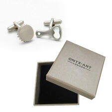 Mens Bottle Opener & Cap Cufflinks & Gift Box By Onyx Art